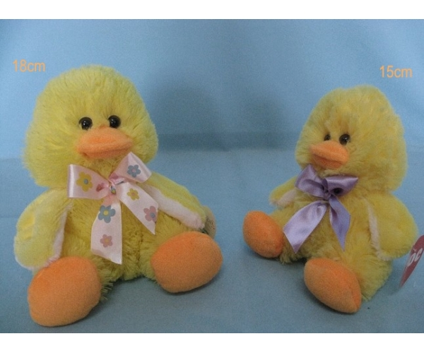 Easter Yellow Duck Toys Stuffed Animals