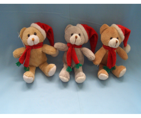 Christmas Cuddly Plush Teddy Bear