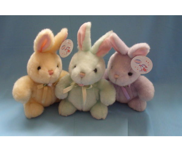 Custom Cute Plush Easter Rabbit Toy